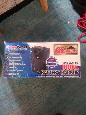 Cyber power battery backup for Sale in Rockville, MD