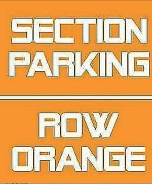 Miami Dolphins Orange Parking Pass for Sale in Lake Worth, FL