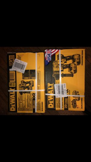 *NEW* 2 piece Dewalt XRz!! $250 EACH! for Sale in Pittsburgh, PA