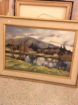 Original Naomi Charlton oil painting for Sale in Everett, WA