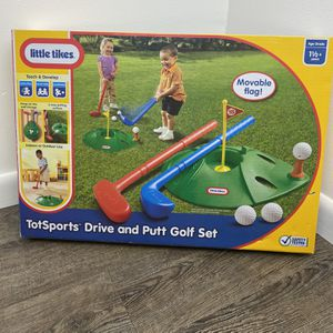 New In Box- Little Tikes Toy Golf Set Kids Toy for Sale in Oviedo, FL