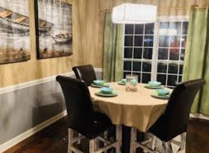 Repurposed and recycle high dining table for Sale in New York, NY