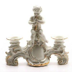 Vintage Schaubach Kunst Porcelain Rococo Style Figural Candelabra for Sale in Denver, CO