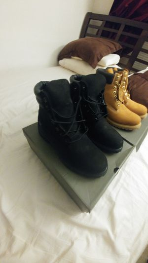 Timberland boots size 9 for Sale in Boston, MA