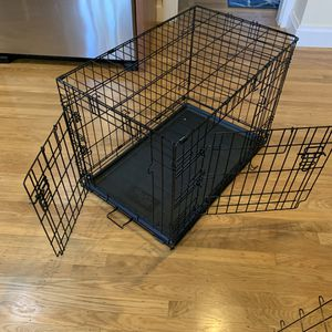 """Double Door Dog Crate for Medium-Sized Dog — 29"""" Long / 18.5"""" Wide / 21"""" Tall for Sale in San Francisco, CA"""