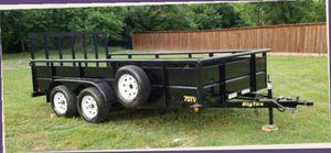I'am Selling A Almost New Utility Trailer for Sale in US