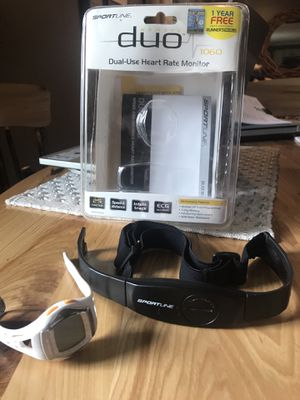 Sport line Duo Heart Rate Monitor- Women's for Sale in Pittsburgh, PA