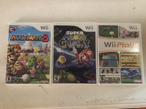 Multiple Wii Games - Mario, Super Smash, etc for Sale in San Francisco, CA