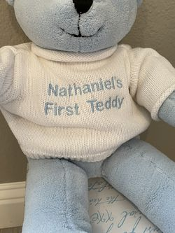 Nathaniel Baby Teddy Bear New In Box for Sale in Stockton,  CA