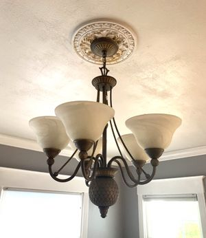 Ceiling light fixture chandelier for Sale in Tacoma, WA