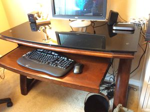 Glass top desk for Sale in Pensacola, FL