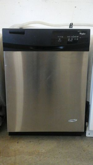 Whirlpool stainless steel dishwasher for Sale in Denver, CO