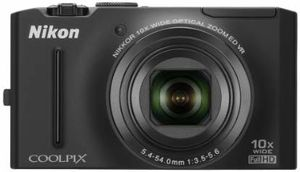 Nikon Coolpix S8100 12.1 MP CMOS Digital Camera with 10x Optical Zoom-Nikkor ED Lens and 3.0-Inch LCD for Sale in Las Vegas, NV