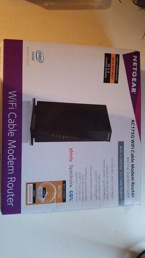 Net gear wifi cable modem router for Sale in Utica, MI