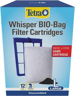 Whisper Bio-Bag filter cartridges, Tetra ,12 ct for Sale in Laguna Beach, CA