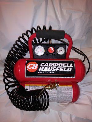 Campbell Hausfeld Dual Twin Tank Air Compressor for Sale in Burien, WA