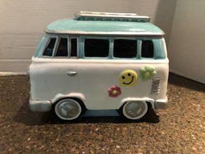 """Volkswagen Van Hippie Peace Cookie Jar 10"""" long 8"""" tall for Sale in Manassas, VA"""