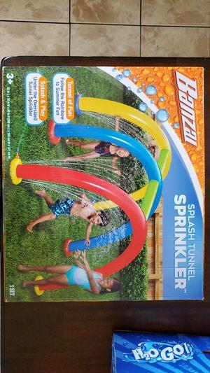Banzai splash tunnel sprinkler for Sale in Chicago, IL