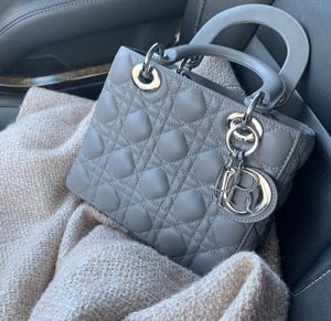 New Grey Lady Dior Lambskin Bag (retail price $3850 + tax) for Sale in Arlington, VA