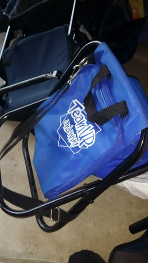 Camping Fishing foldable Chair with Carrying straps for Sale in Alexandria, VA
