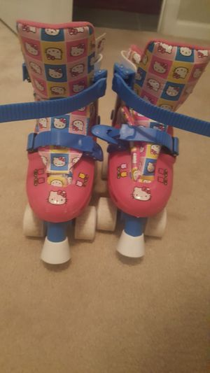 Hello Kitty Roller Skates Size 1-4 for Sale in Garner, NC
