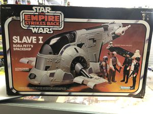 Kenner 39690 Star Wars The Empire Strikes Back Slaver I Boba Fett's Spaceship for Sale in Redlands, CA