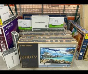 Brand New 🧿🧿🧿Samsung ang LG smart TVs with $39 down for Sale in Houston, TX