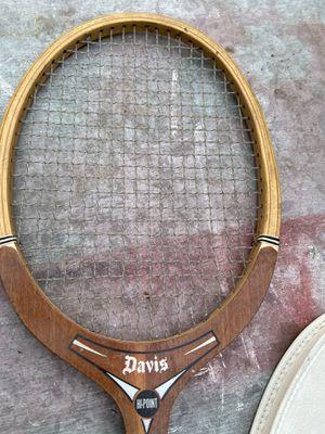 Vintage Davis wooden tennis racket for Sale in Artesia, CA