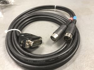 PC serial to MIDI cable for musical keyboards/devices for Sale in Topanga, CA