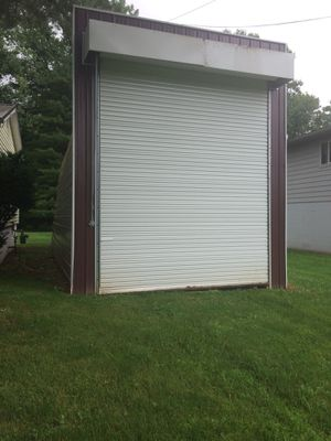 Maroon white bldg. 14w x 16h x 34L. for Sale in Heath, OH