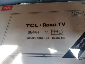 """40"""" TCL Roku Smart TV for Sale in Barberton, OH"""