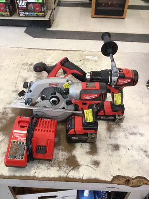 Milwaukee 3pc lithium set for Sale in Mobile, AL
