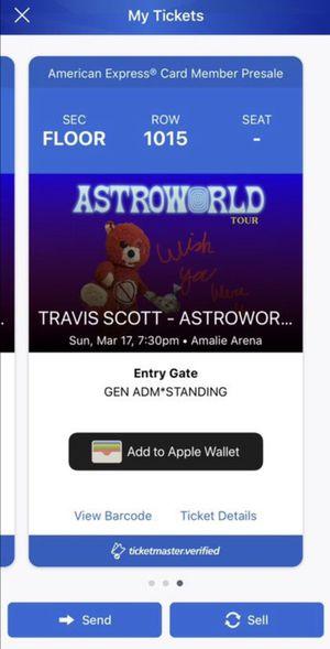 Travis Scott for Sale in Tampa, FL