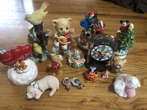 Lot of cute ceramic figurines for Sale in Carol Stream, IL