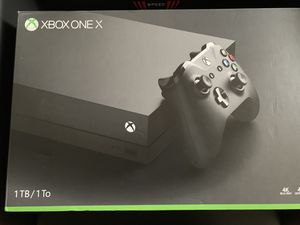 Xbox one X 1TB brand new for Sale in Silver Spring, MD