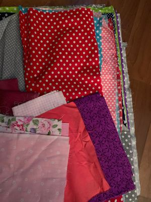 Cotton fabric great for masks or quilts for Sale in Vista, CA