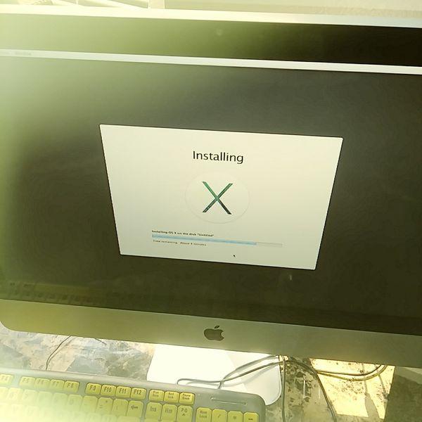 MacBook or IMac OS Repir ...$60 flat rate