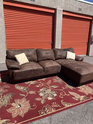 Genuine Leather Sectional,Couch DELIVERY AVAILABLE for Sale in Las Vegas, NV