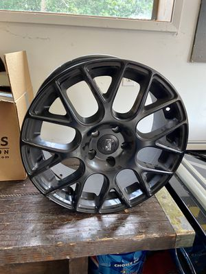 New Black wheel rims set of 2-located in west Seattle for Sale in Seattle, WA