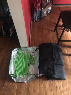Grow tent for beginners with 3x 3 gal pots for Sale in District Heights, MD