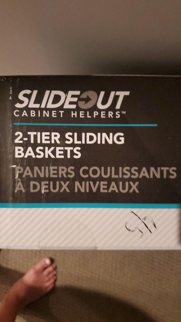 Sliding baskets
