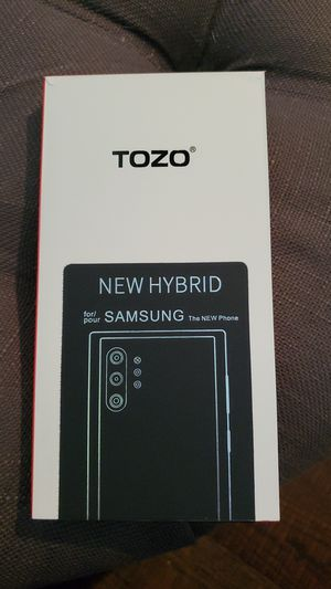 Clear Samsung Galaxy Note 10 Plus Case  TOZO for Sale in Thousand Oaks, CA