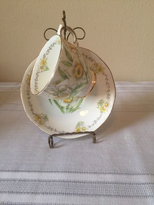 Antique Salisbury Teacup and Saucer for Sale in San Francisco, CA