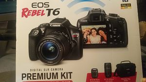 Cannon eos rebel t6 for Sale in Dallas, TX