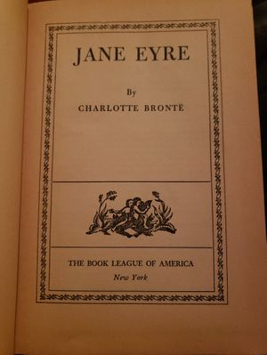 Rare Jane Eyre 1847 Book League Of America Edition for Sale in Colorado Springs, CO