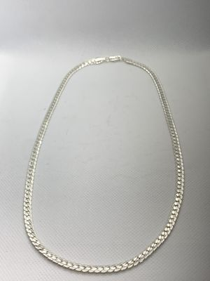 """New 20"""" Stainless Steel Mens/Women's Cuban Chain with diamond cuts for Sale in Edgewater, NJ"""