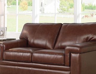 NEW. Abbyson Reagan Leather Loveseat. for Sale in Dublin,  OH