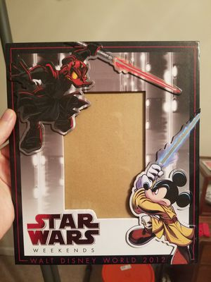 2012 Disney Star Wars Weekend Limited Edition 4 x 6 Photo Frame for Sale in Franklin, TN