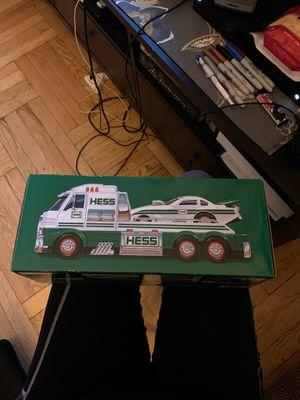 BRAND NEW 2016 COLLECTABLE HESS TOY TRUCK AND DRAG RACER CAR!! for Sale in New York, NY