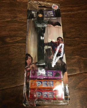 NEW BATMAN Pez Candy & Dispenser - PACKAGING DAMAGED (see pictures) for Sale in Corona, CA